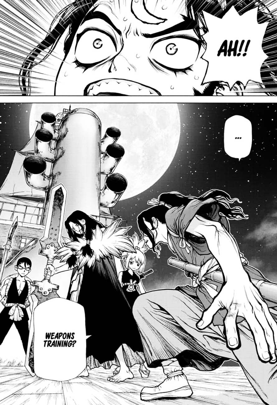 Dr. Stone : Chapter 146 - Bar Francois Bitters image 014
