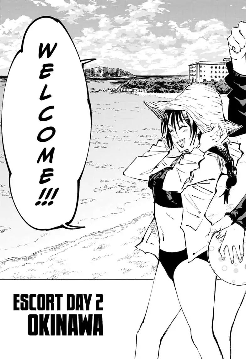 Jujutsu Kaisen, Chapter 70 image 007