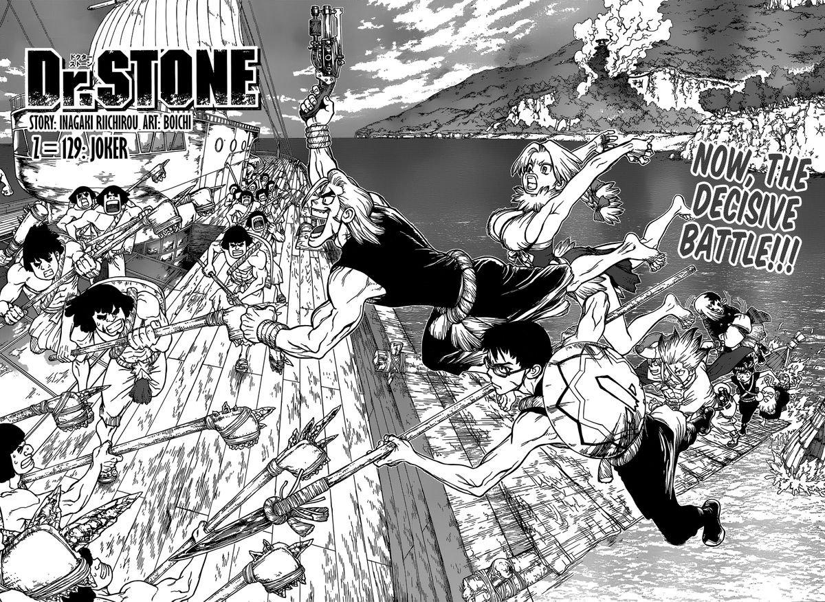 Dr. Stone : Chapter 129 - JOker image 002