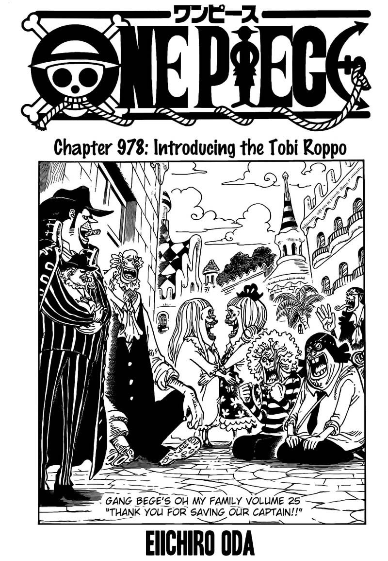 One Piece, Chapter 978 image 002