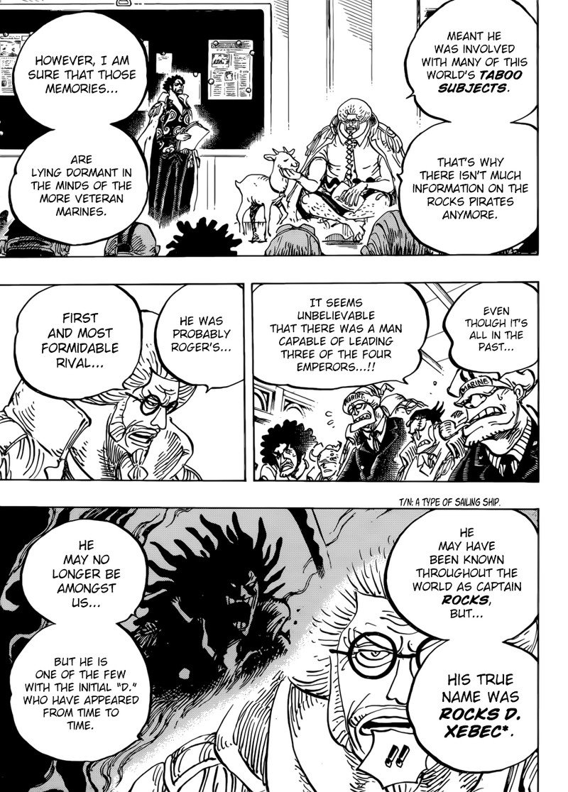 One Piece, Chapter 957 image 011