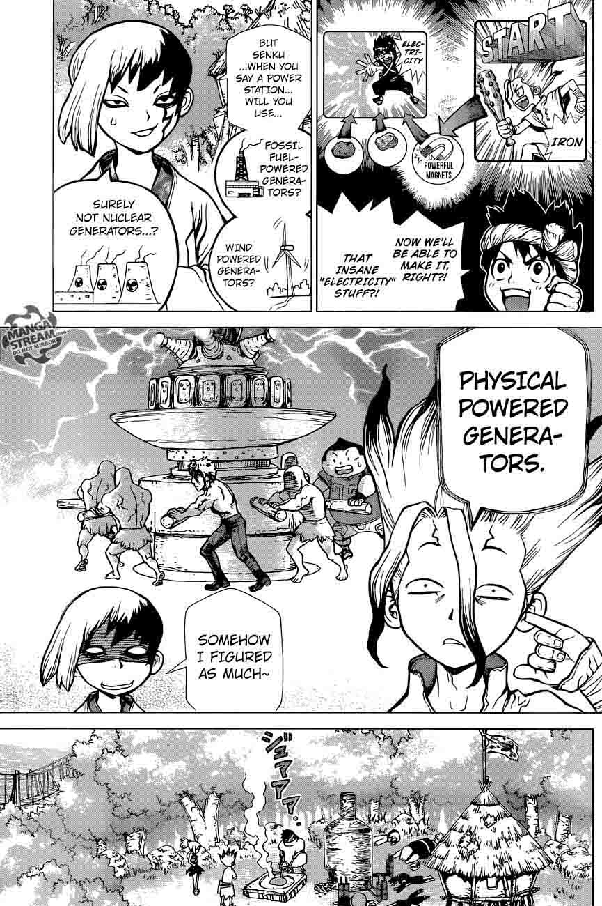 Dr. Stone : Chapter 25 - In this hand, I hold the light of science! image 007