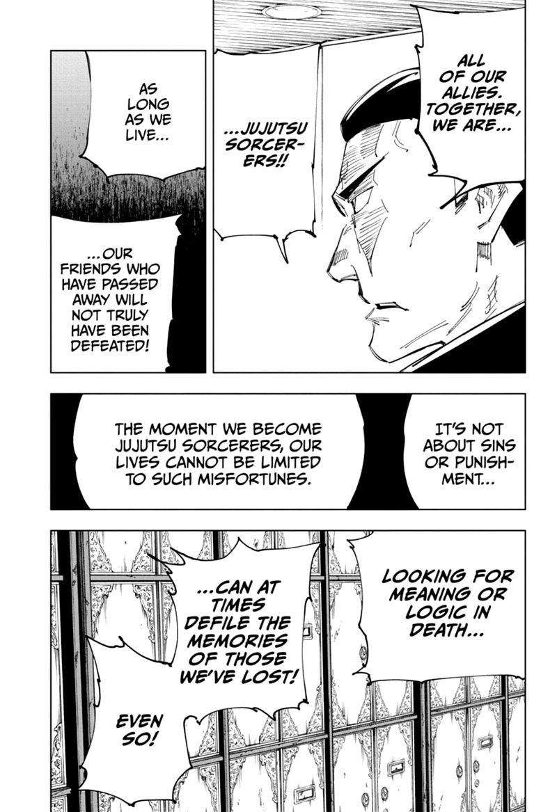 Jujutsu Kaisen, Chapter 127 image 009