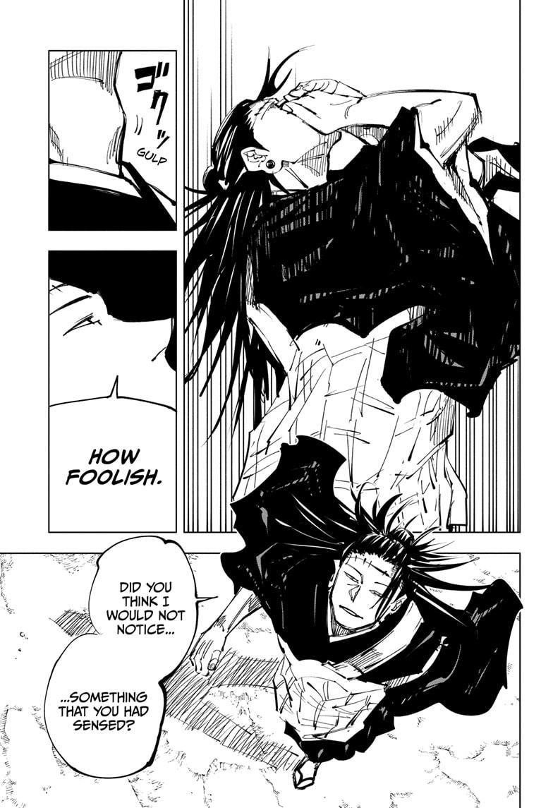 Jujutsu Kaisen, Chapter 134 image 003