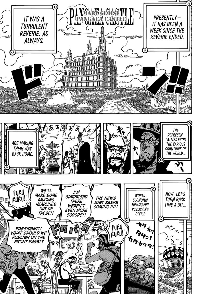 One Piece, Chapter 956 image 006
