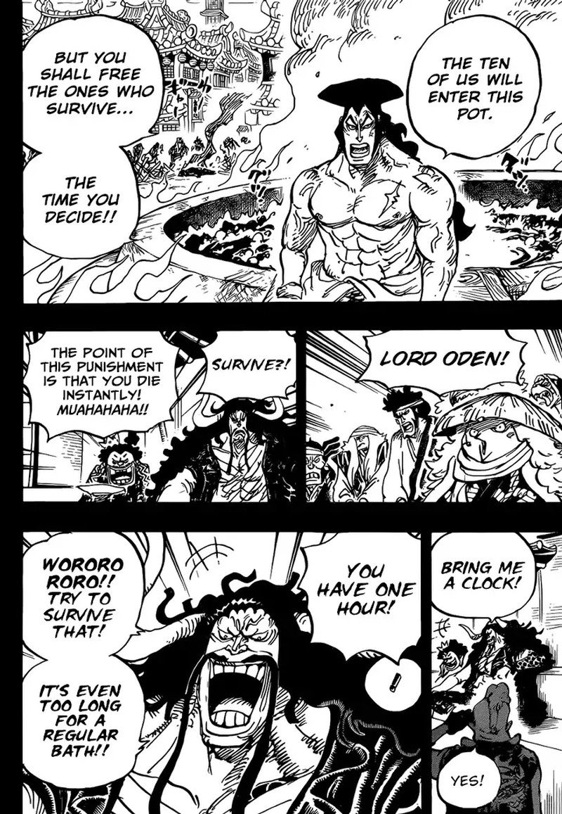 One Piece, Chapter 971 image 006
