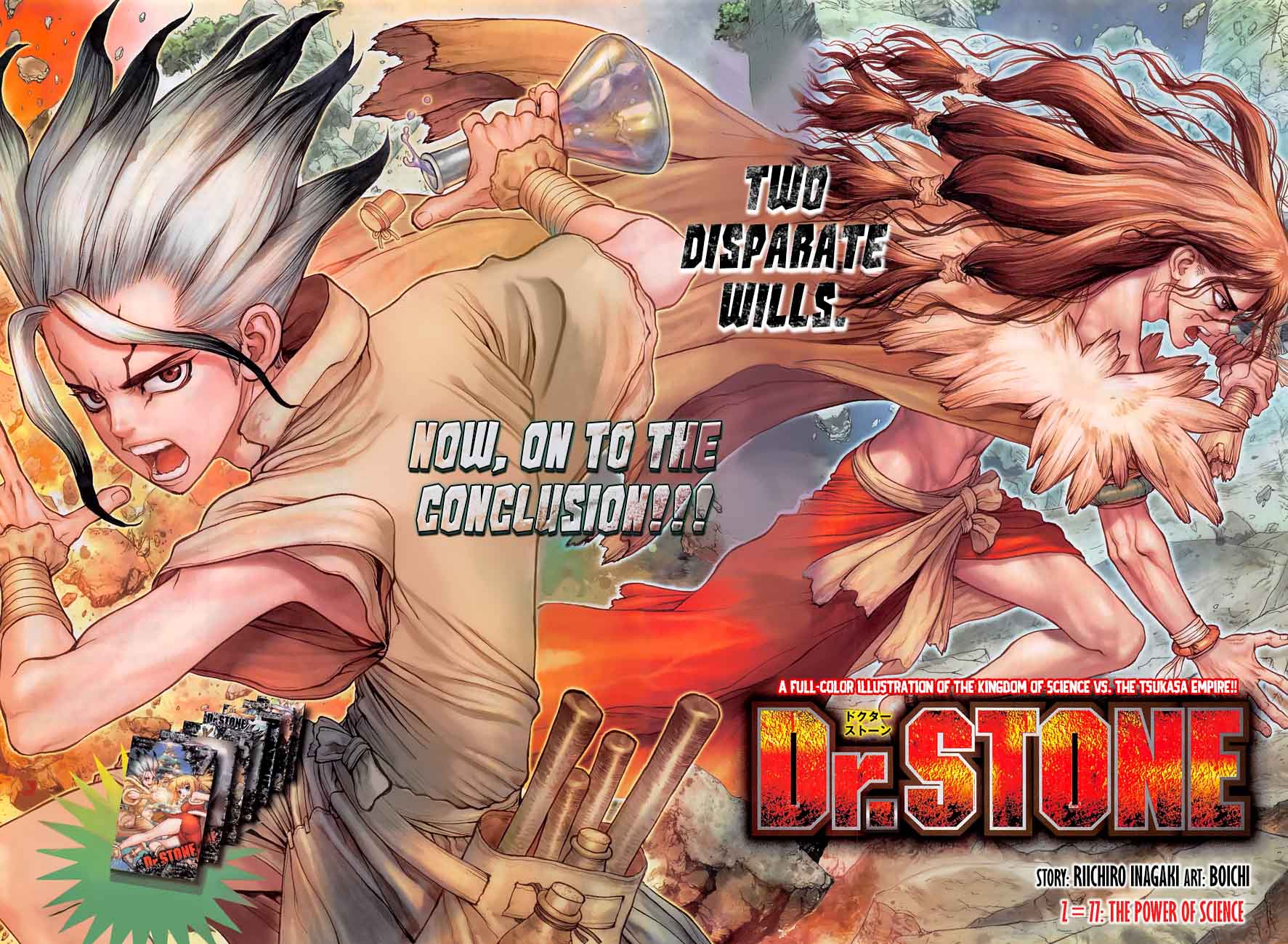Dr. Stone : Chapter 77 - The Power of Science image 003
