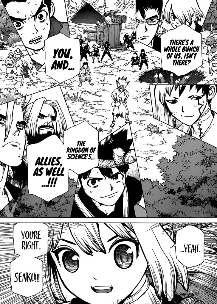 Dr. Stone : Chapter 76 image 013