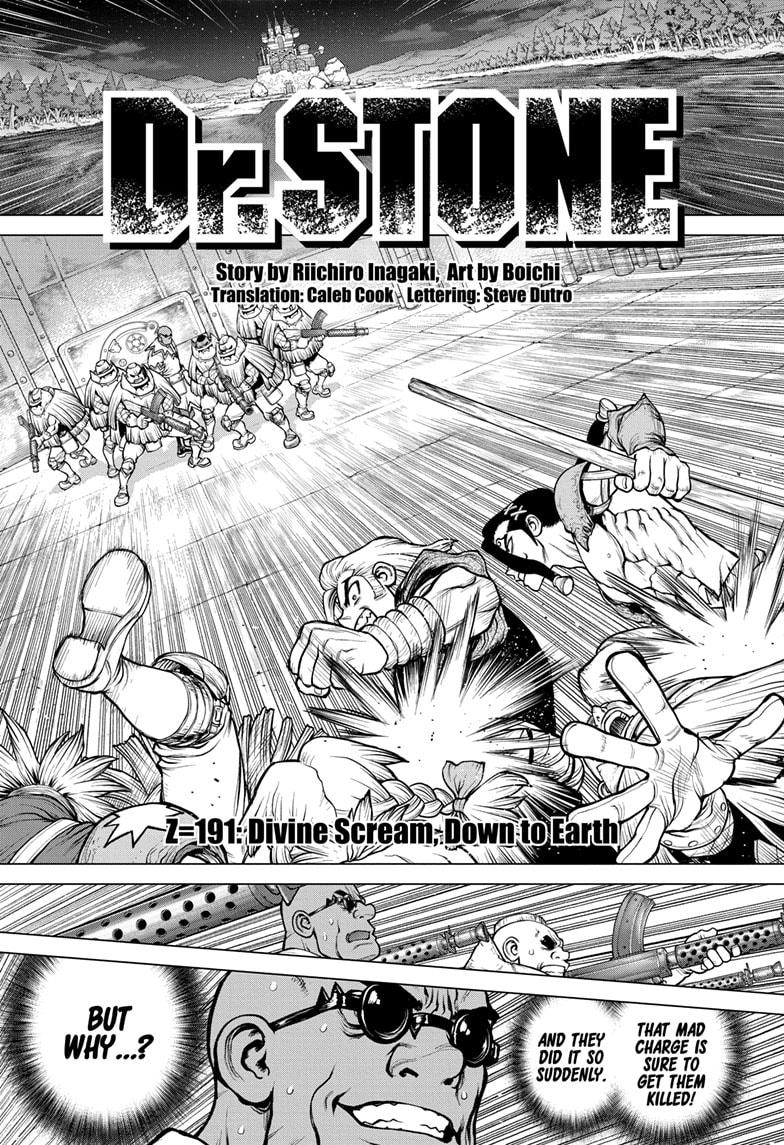 Dr. Stone, Chapter 191 image 001