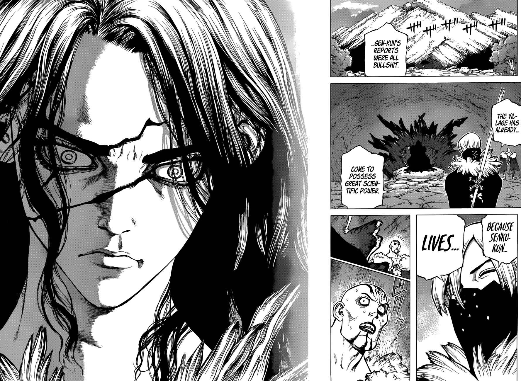 Dr. Stone : Chapter 50 - Humanitys Strongest Weapon image 008