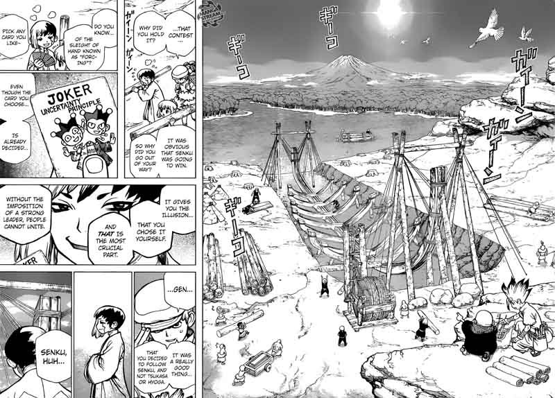 Dr. Stone : Chapter 84 - People = Power image 016