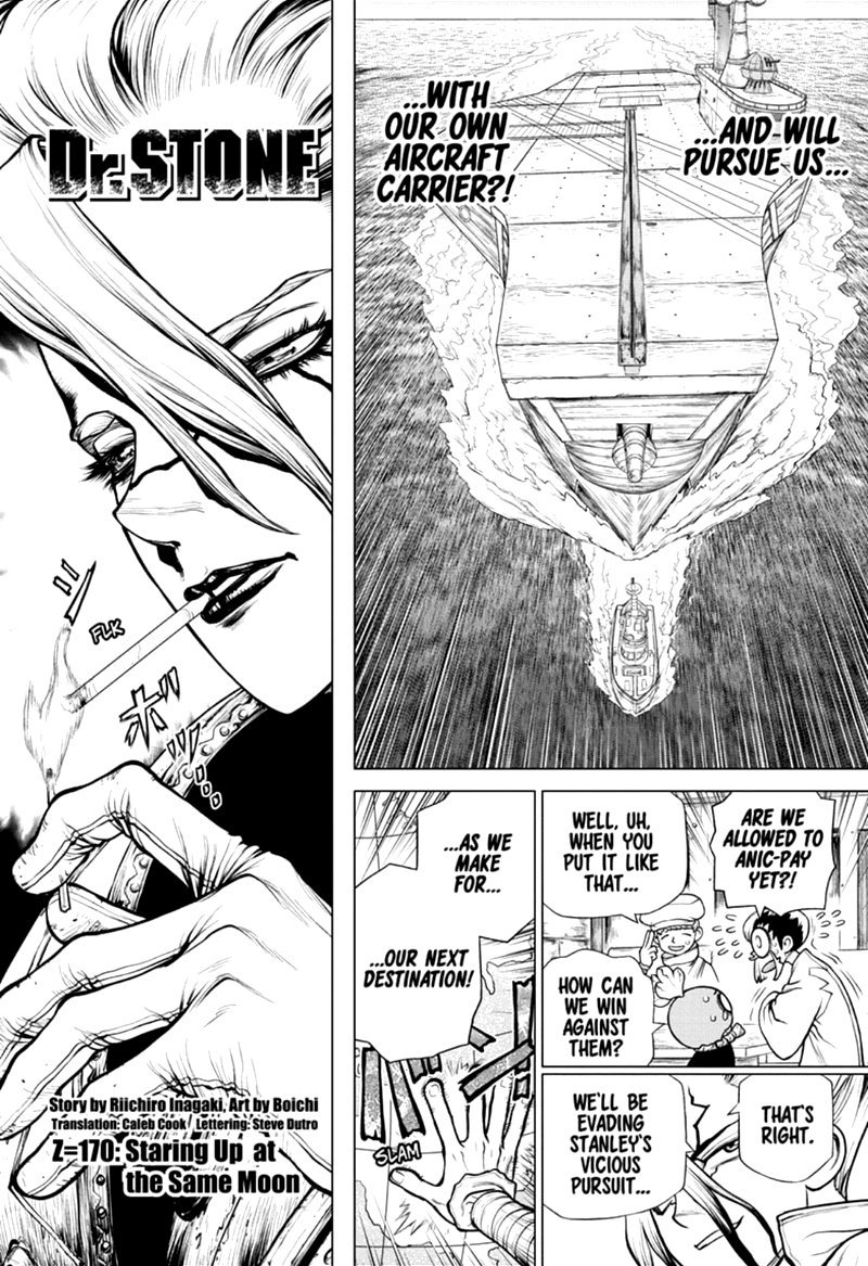 Dr. Stone, Chapter 170 image 002