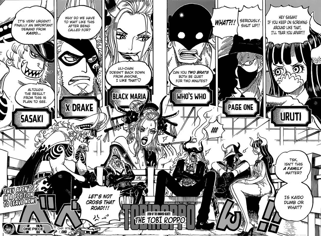 One Piece, Chapter 978 image 015