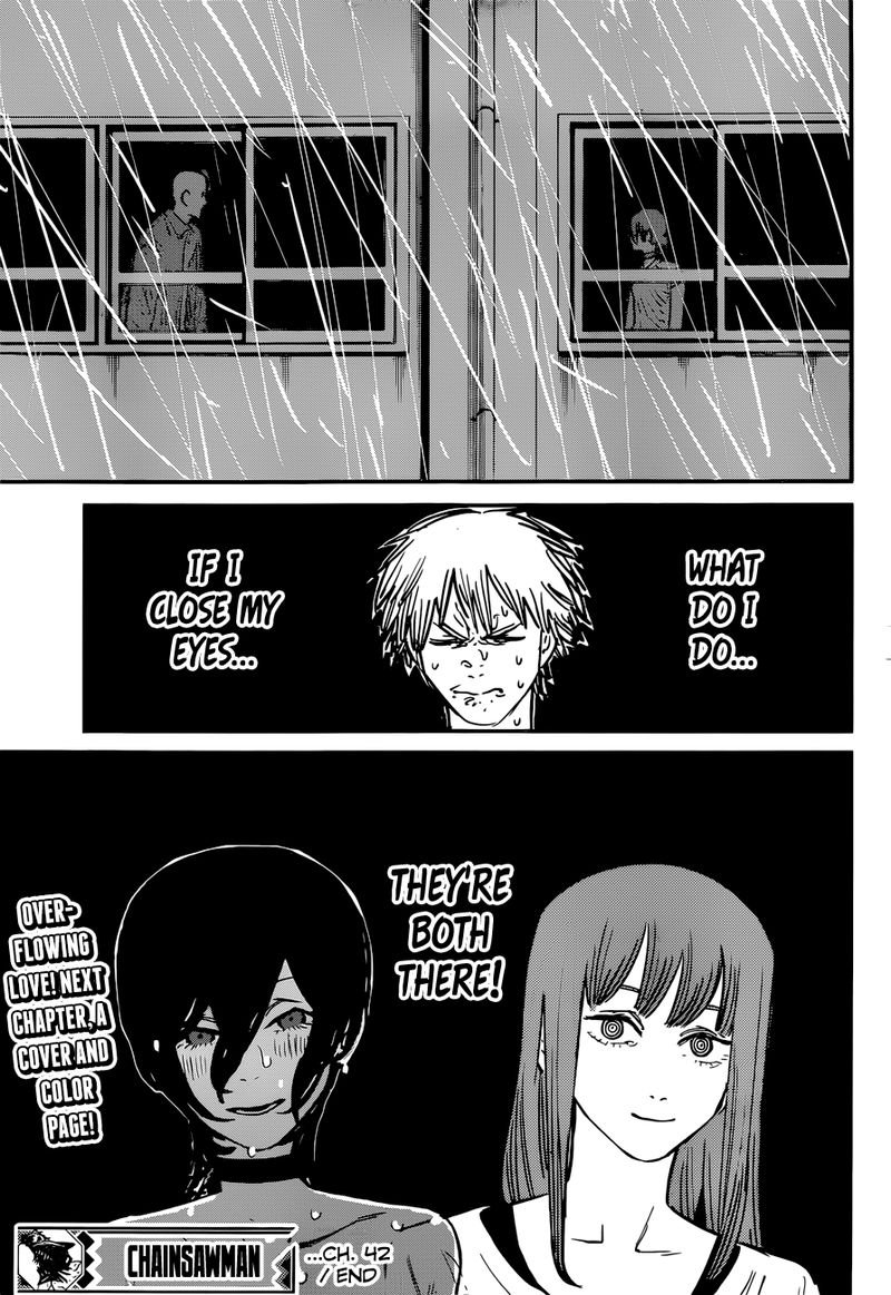 Chainsaw Man, Chapter 42 - Learning How to Swim image 019
