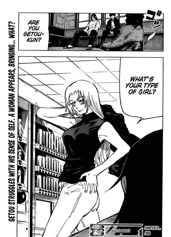 Jujutsu Kaisen, Chapter 76 image 019