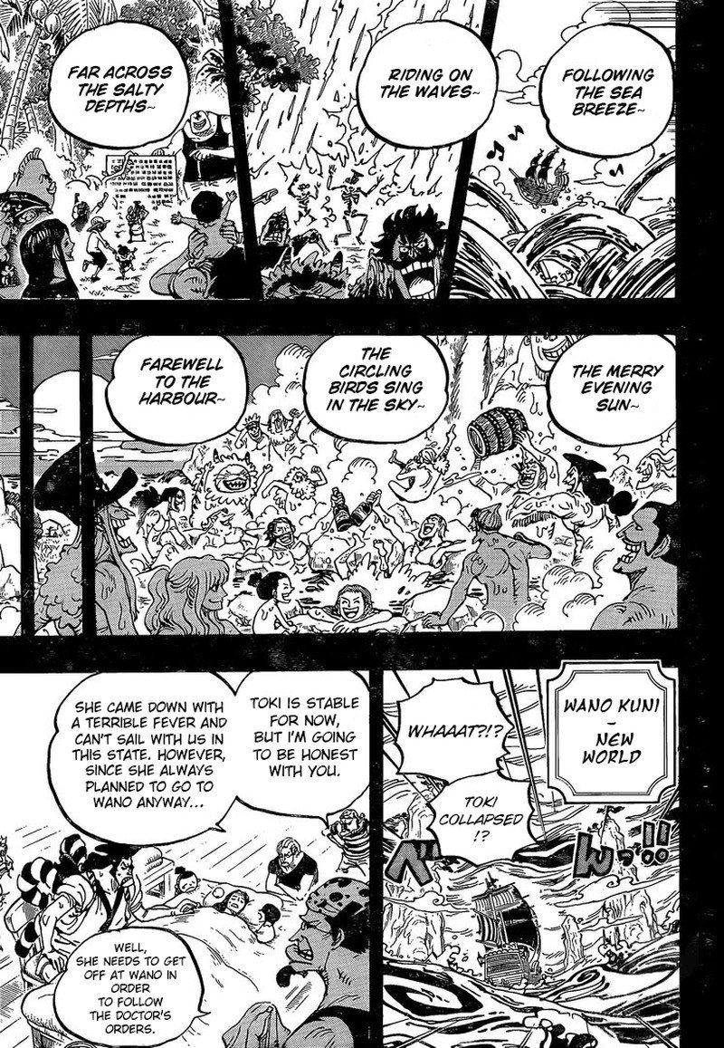 One Piece, Chapter 967 image 010